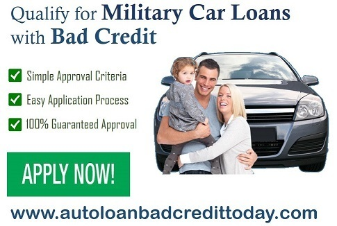 Bad Credit Military Loans >> Bad Credit Car Loans Military Personnel Smart Choice To